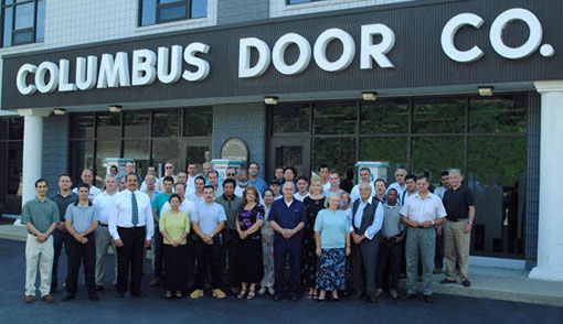 \ THE NUMBER ONE DOOR TEAM\  COLUMBUS IS COMMITTED TO YOUR SATISFACTION! & Columbus Door Co. - Commercial Wood and Metal Doors Frames and ...