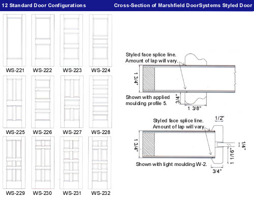 Marshfield Wood Doors : Marshfield door system systems